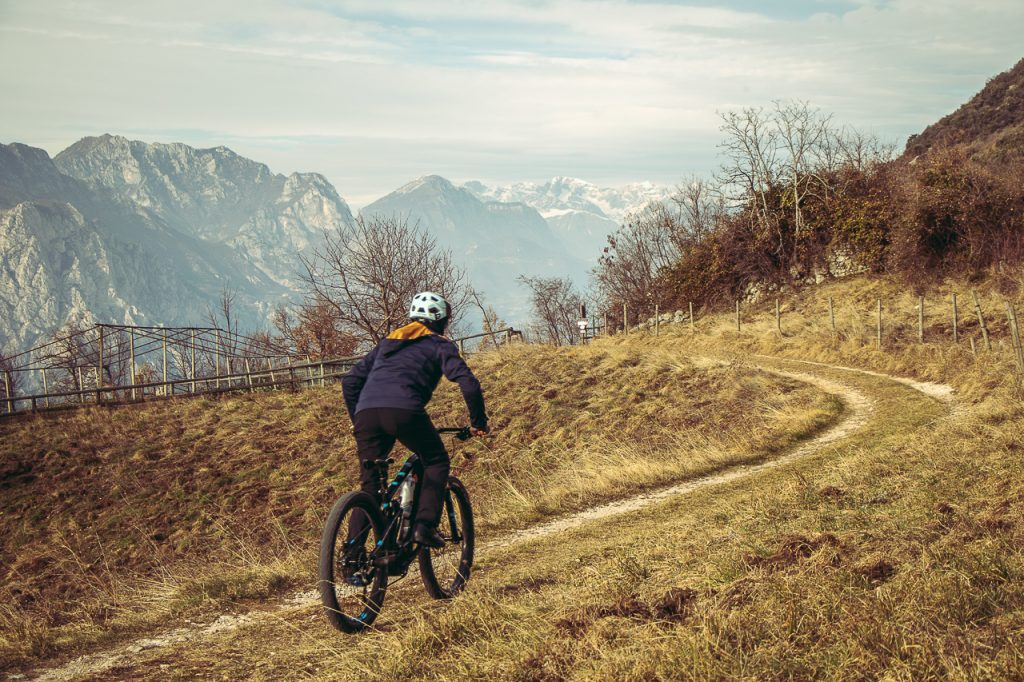 MTB Rider - E-enduro. Ph Credit: Francesco Trentini
