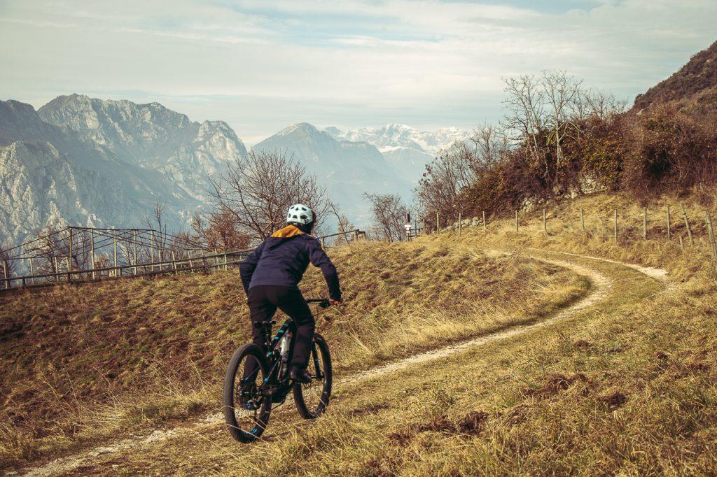 MTB Rider - E-enduro. Ph Credit: Francesco Trentini