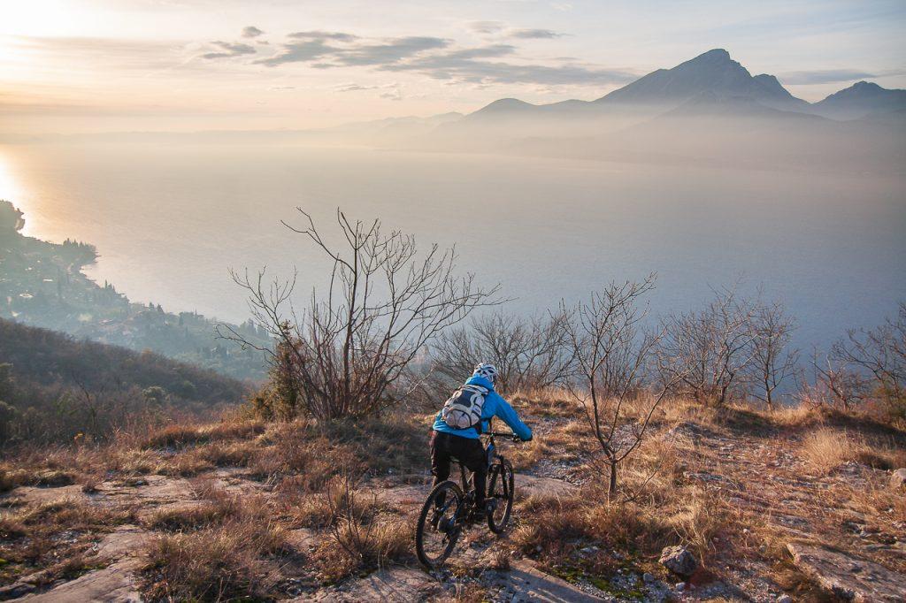 MTB Rider - E-enduro - PH Credit: Francesco Trentini